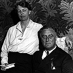 Frankin D. and Eleanor Roosevelt