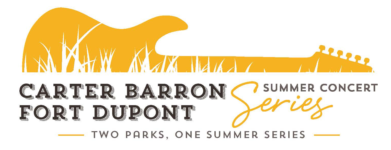 Carter Barron and Fort Dupont Summer Series Logo