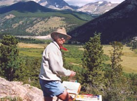 photo of John Hulsey 2009 artist in residence