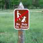 Pets are not allowed on any RMNP trails! NPS photo by John Marino