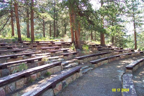 a photo of Moraine Park Amphitheater