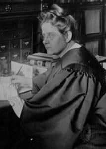 a photo of Judge Florence Allen