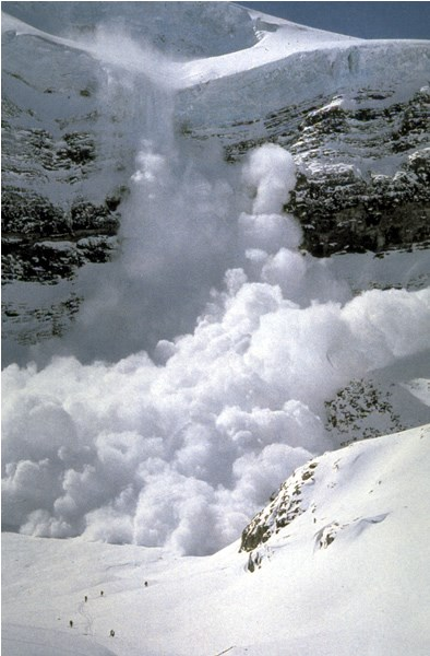 a photo of an avalanche