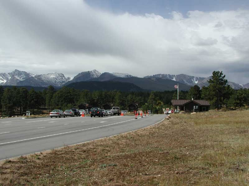 a photo of Beaver Meadows Entrance Station