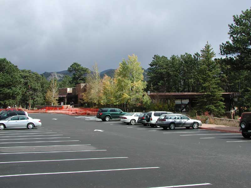 a photo of Beaver Meadows Visitor Center