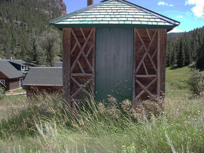a photo of the McGraw Ranch privy