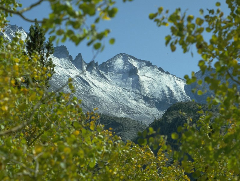 a photo of the Longs Peak wilderness