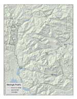 a map of faults in Rocky Mountain National Park