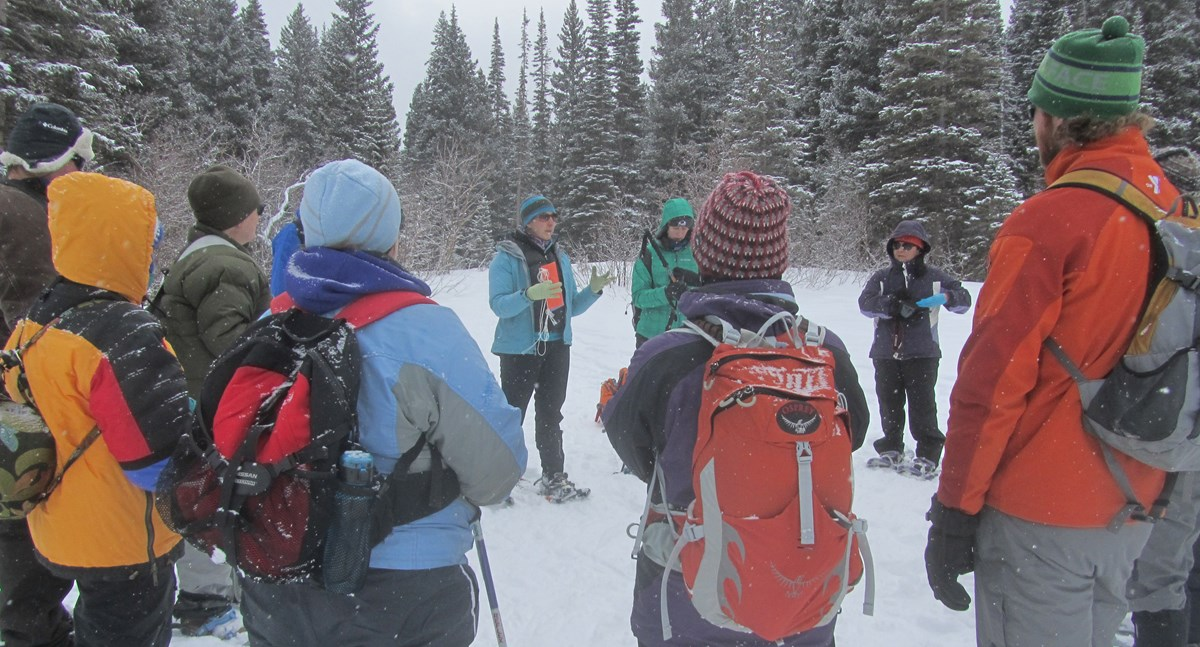 teacher workshop life in the cold rocky mountain national park