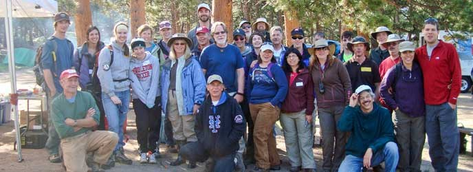 Wildlands restoration volunteer group photo