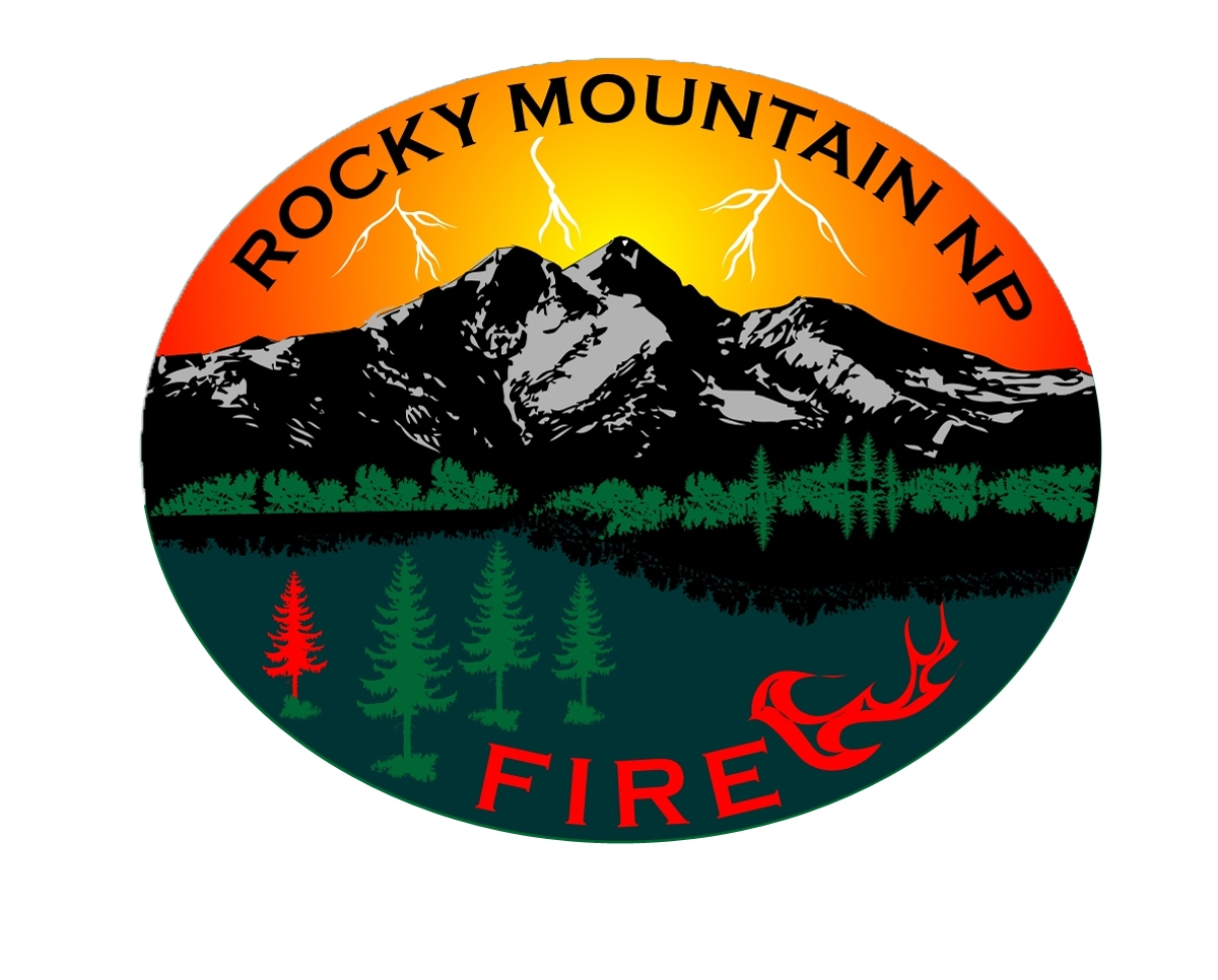 Rocky Mountain National Park Fire Management Logo