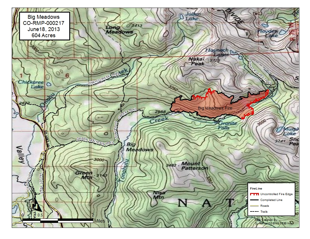 Click Here For A Map Of The Big Meadows Fire