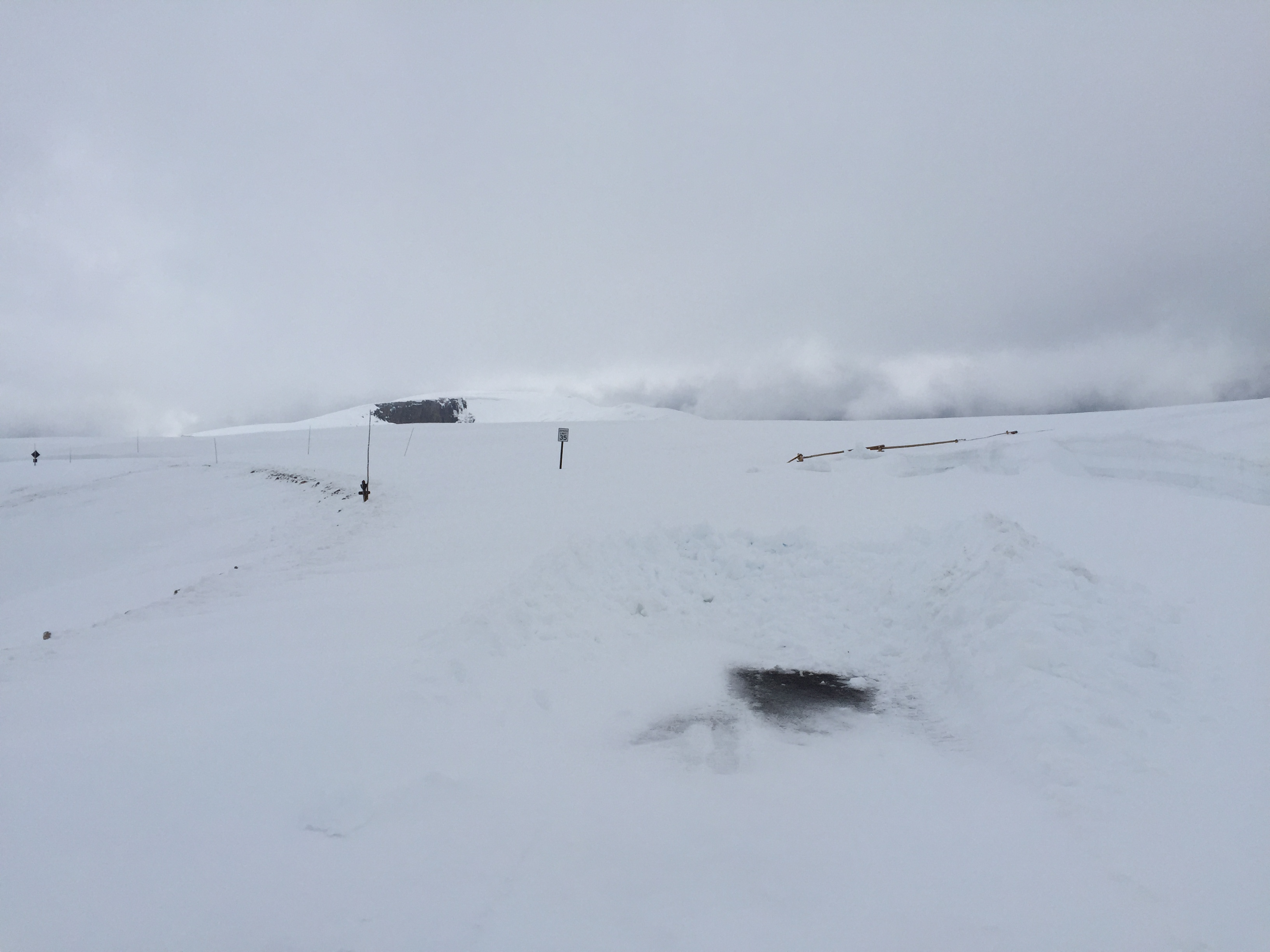 Just west of Rock Cut on Trail Ridge Road May 20, 2015