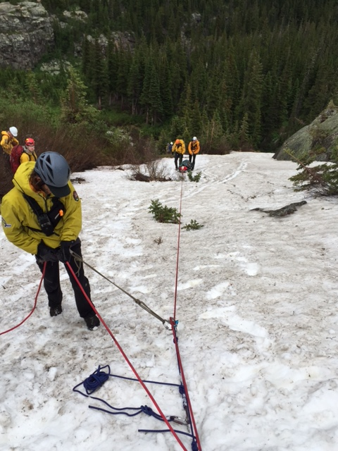 LeGault SAR on Sundance Mountain June 28 Courtesy Rocky Mountain National Park