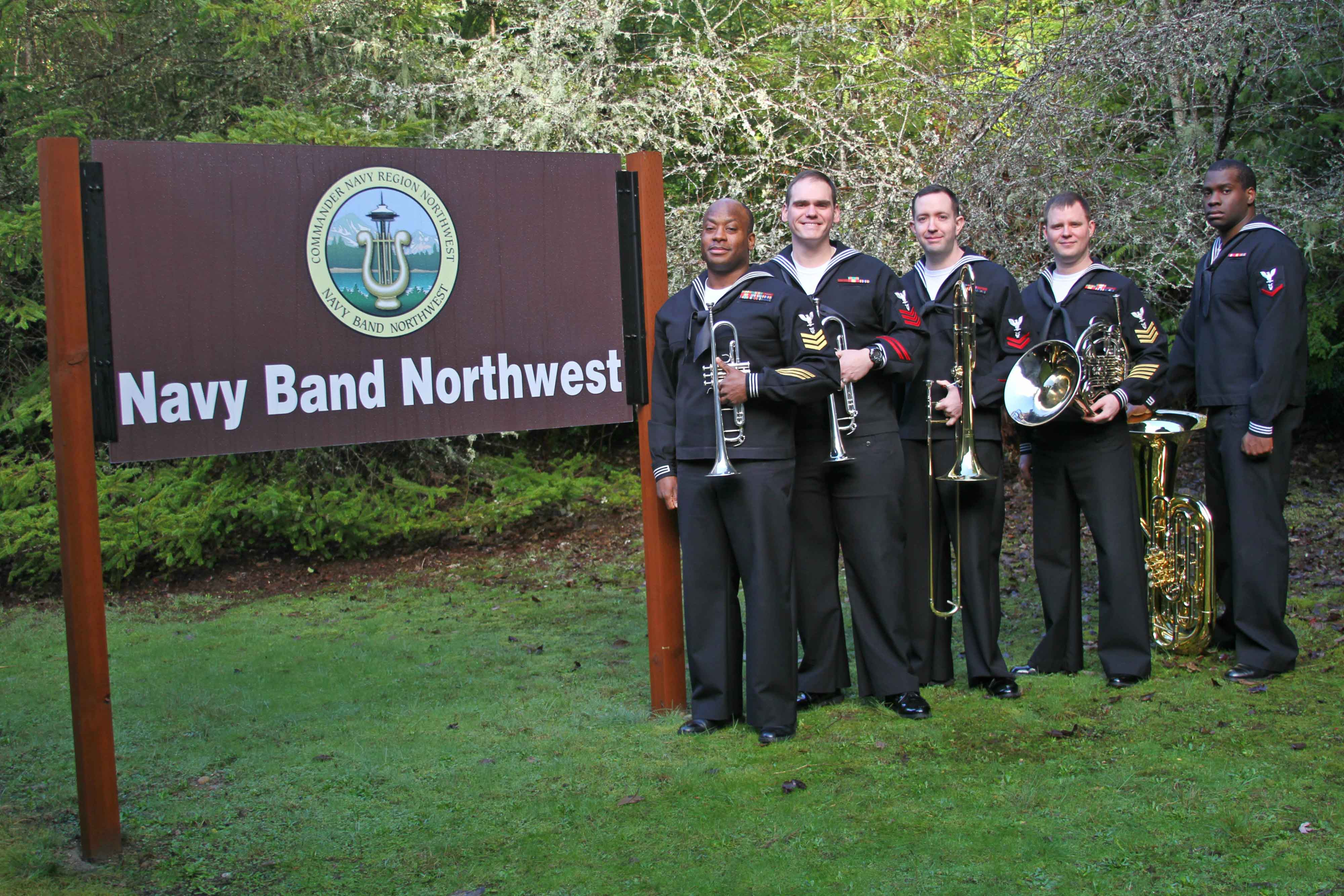 Navy Band Northwest Brass Quintet
