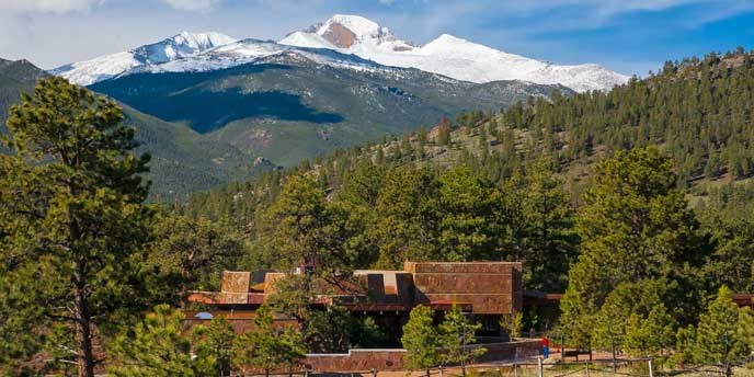 Longs Peak and Beaver Meadows Visitor Center