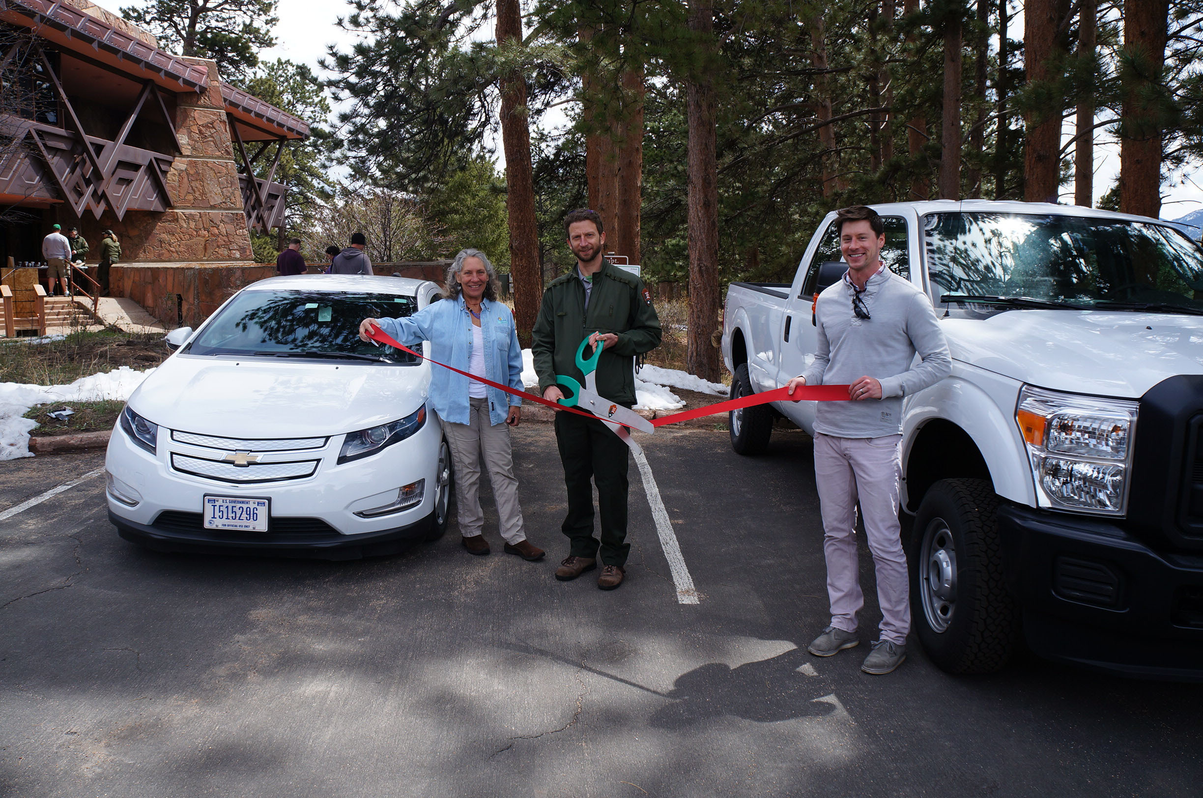 RMNP Clean Cities Grant Ribbon Cutting