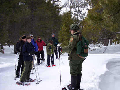 Ranger-Led-Snowshoe-Program
