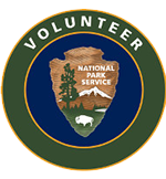 VIP Volunteer In Parks patch badge