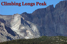 Photo Climbing Longs Peak podcast icon