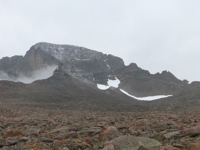 Longs Peak from the Boulderfield