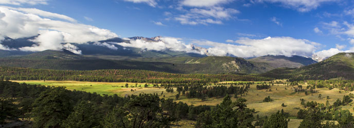 Longs Peak and Continental Divide