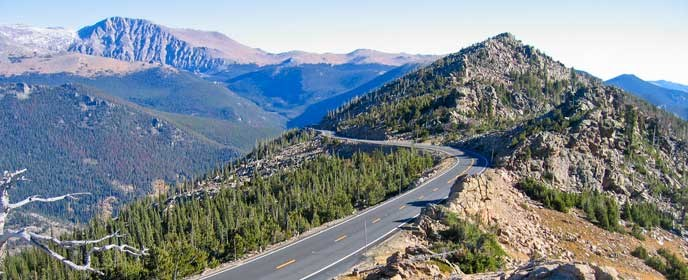 Scenic Drives - Rocky Mountain National Park (U.S. National Park ...