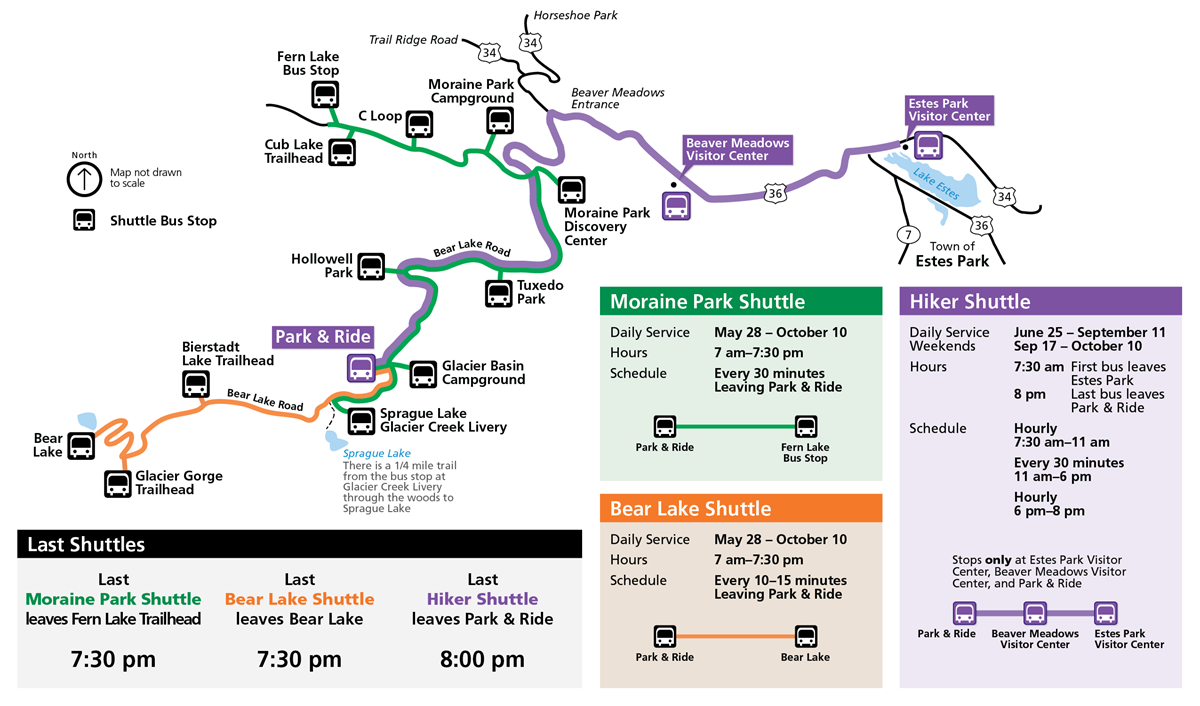 Shuttle Bus Route Map