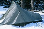 tent in winter credit NPS photo by John Marino