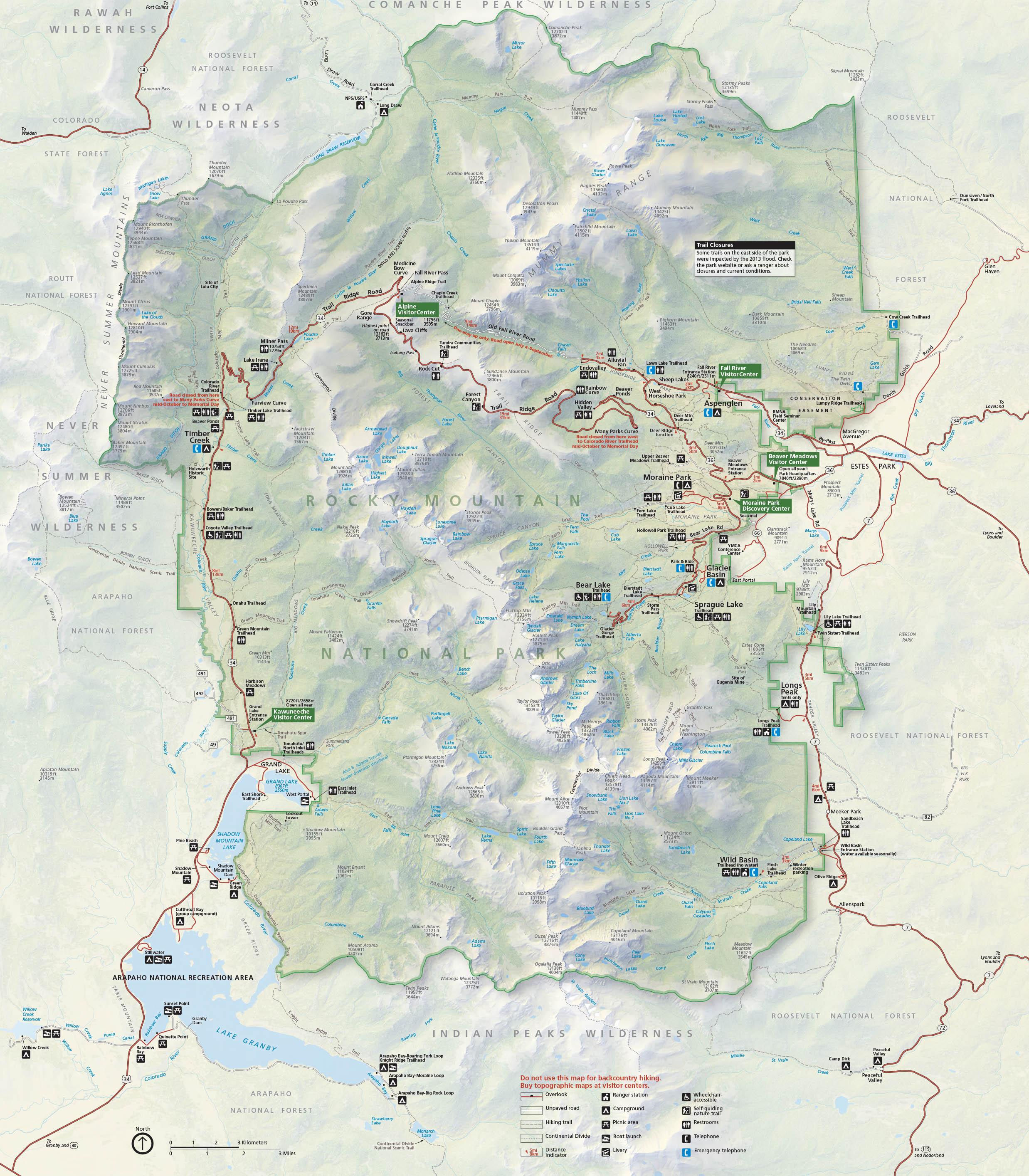 Brochures - Rocky Mountain National Park (U.S. National Park Service)