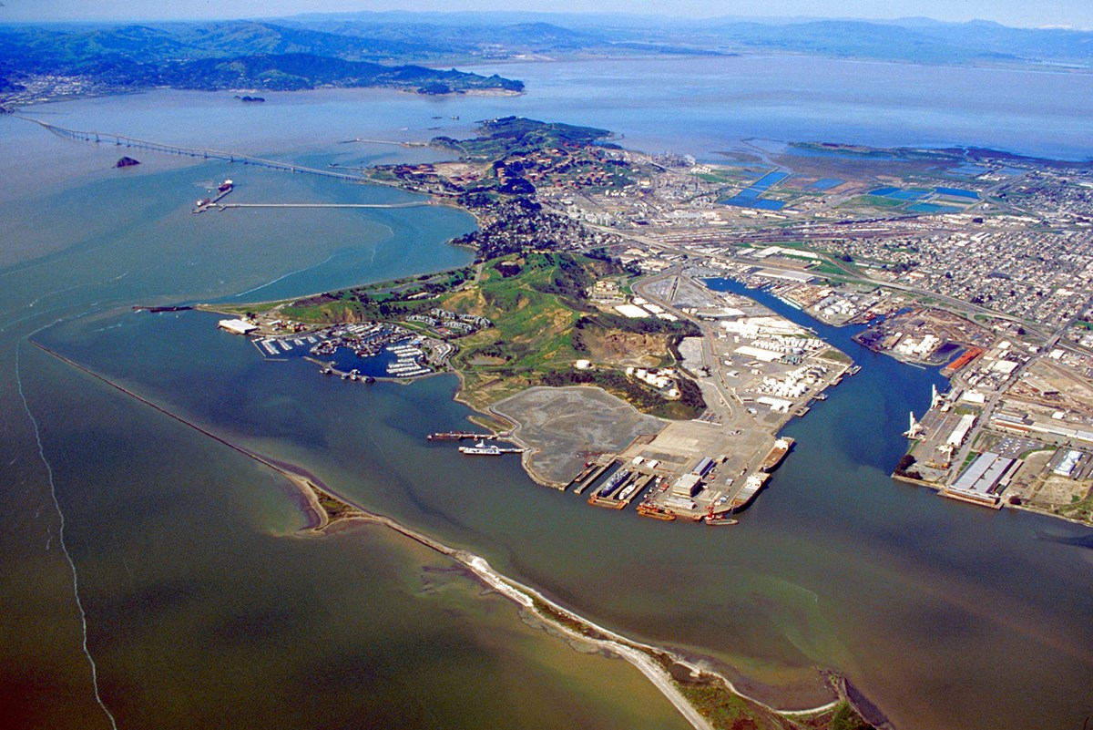 Aerial View of Richmond, California