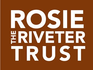 Rosie the Riveter Trust logo. Text only.