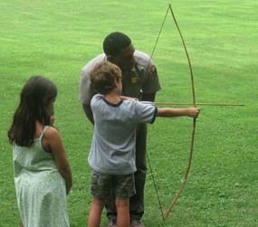 Bow and Arrow demonstration