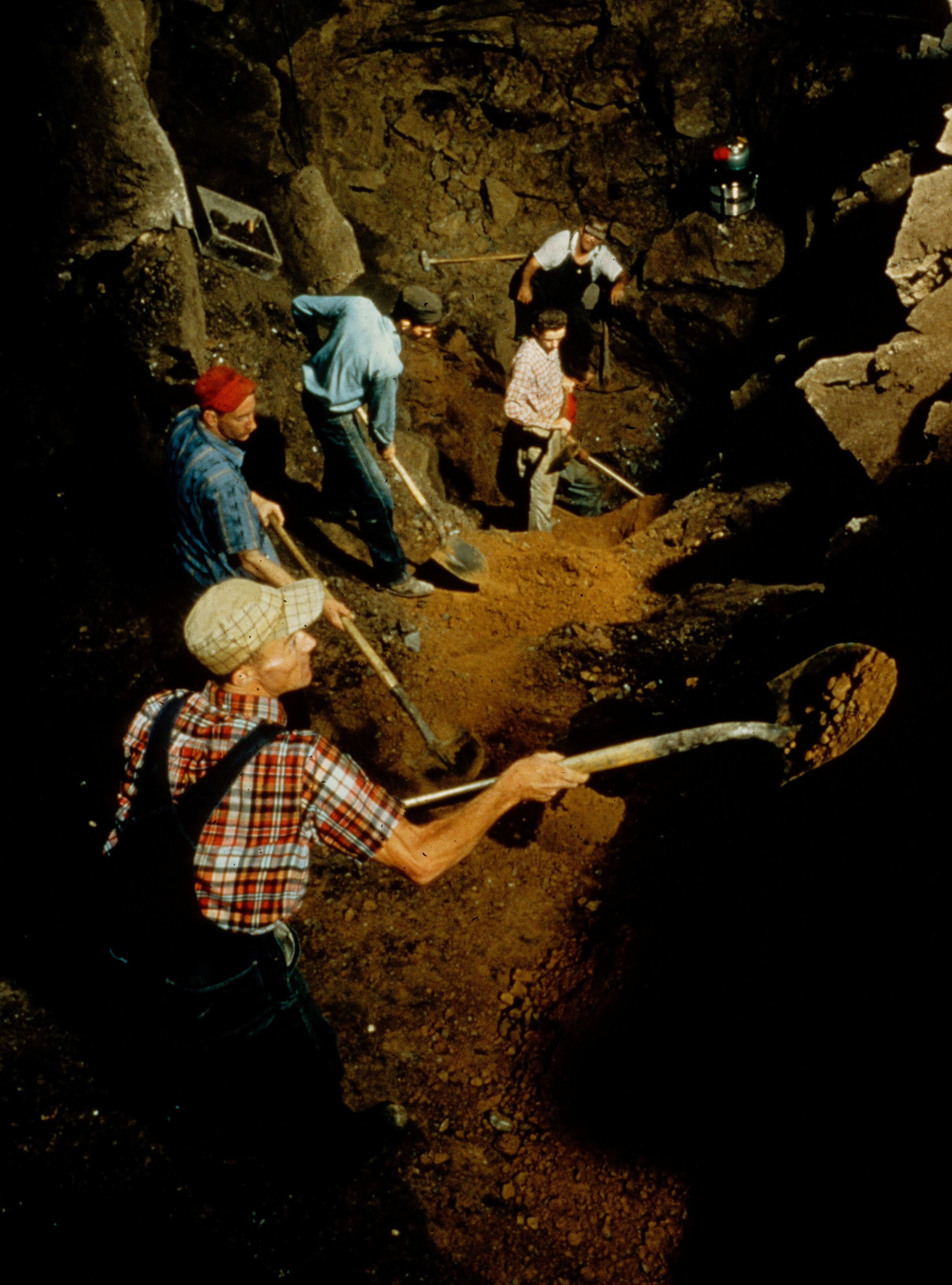 Smithsonian Excavation