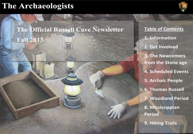 The Archaeologists Fall 2013