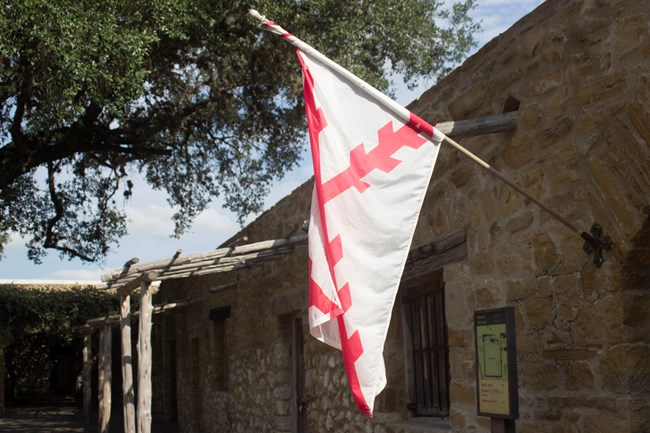 Flag at Mission San Jose