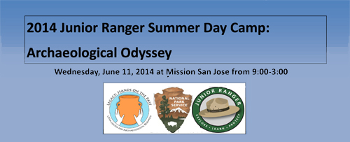 Information on Archaeology Odyssey Junior Ranger Camp