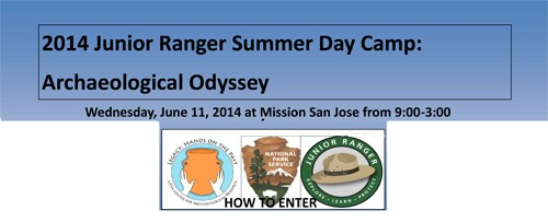 Application for Archaeology Odyssey Junior Ranger Day Camp