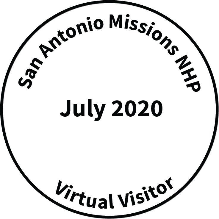 Virtual Visitor July Stamp