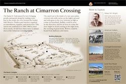 "thumbnail of ""The Ranch at Cimarron Crossing"" exhibit panel"