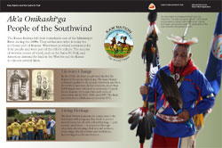 People of the Southwind exhibit at the Santa Fe Trail Center