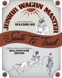 Cover of Junior Wagon Master Bullwhacker Edition booklet