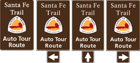 Auto Tour Route signs