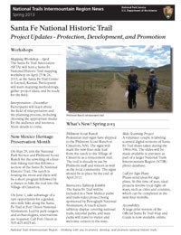 thumbnail image of Spring 2013 Newsletter cover