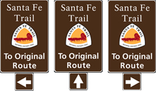 To Original Route signs