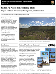 thumbnail of santa fe trail newsletter