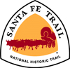 brown santa fe trail logo