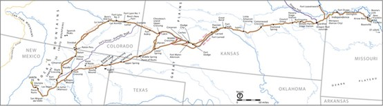 Maps - Santa Fe National Historic Trail (U.S. National Park Service)