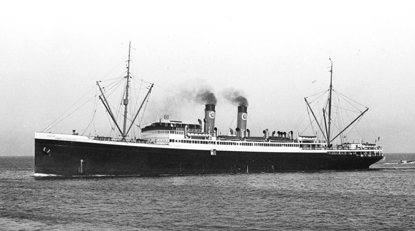The S. S. Emma Alexander,a 424-foot passenger ship in the Admiral Line fleet.