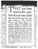 Newspaper column digitized from microfilm copy